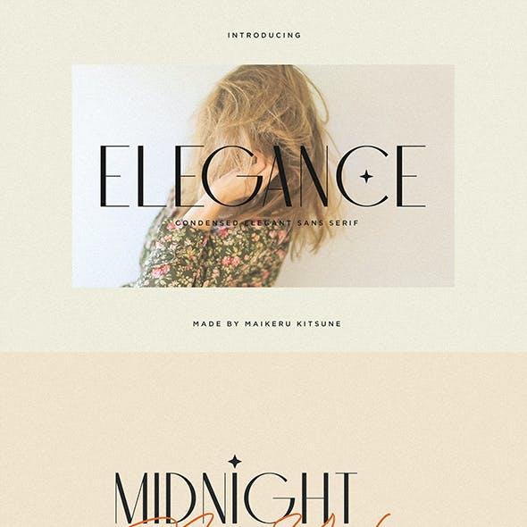 Elegance - Modern Sans Serif