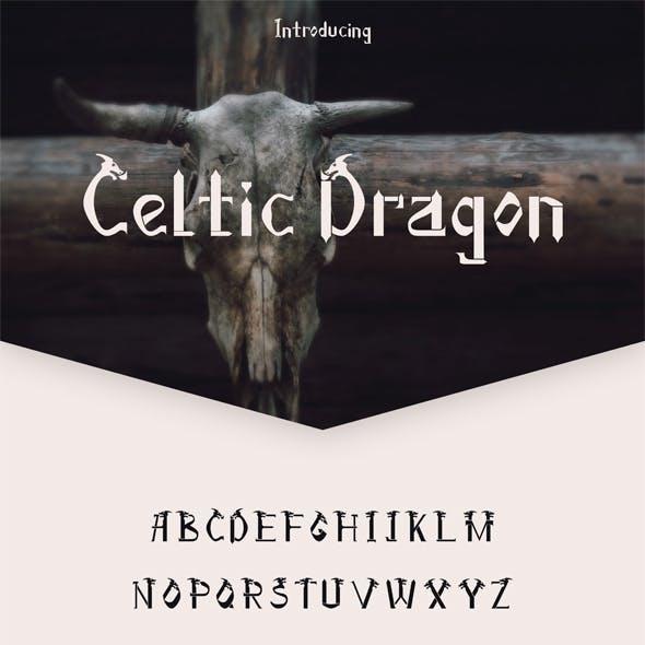 Celtic Dragon Font