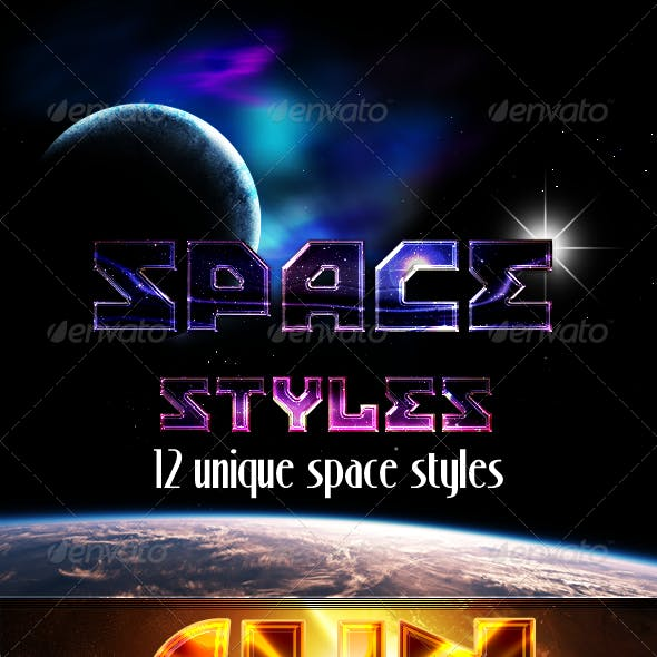 12 Space Styles