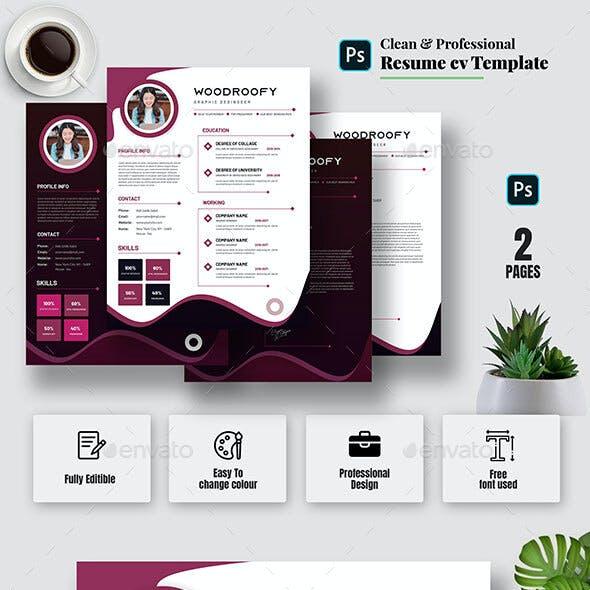 Romos | Creative Resume & CV Template