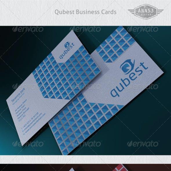 Qubestr Business Card Package