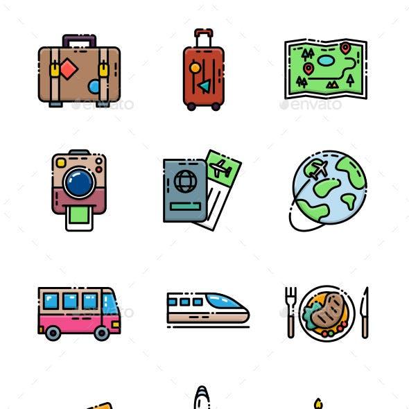 21 Travel Icon