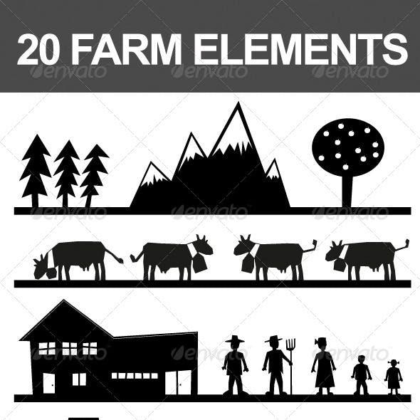 20 Farm Elements