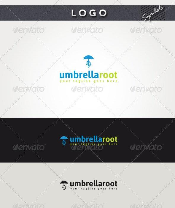Umbrella Root Logo - Symbols Logo Templates