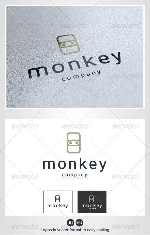 Monkey Logo - Vector Abstract