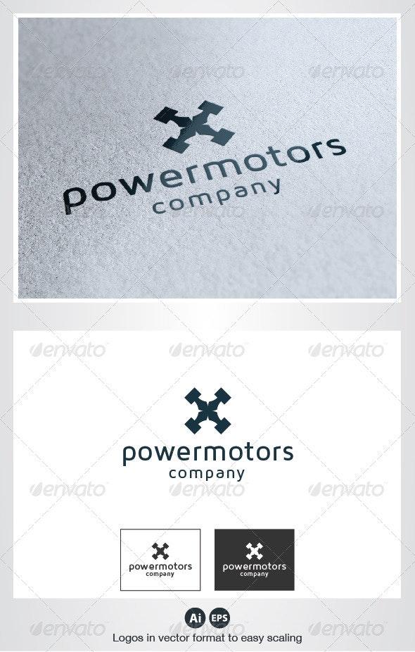 Power Motors Logo - Symbols Logo Templates