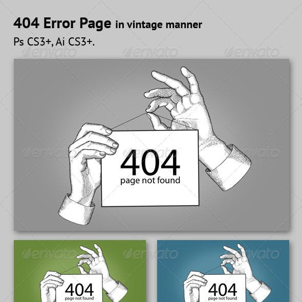 Error Page Sign