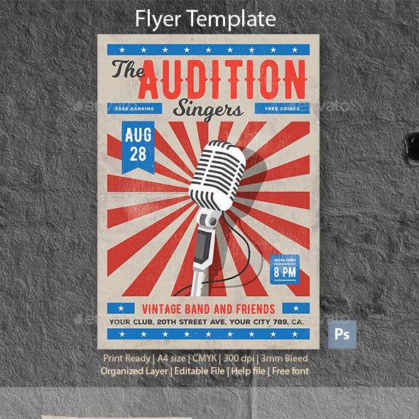 The Audition Template