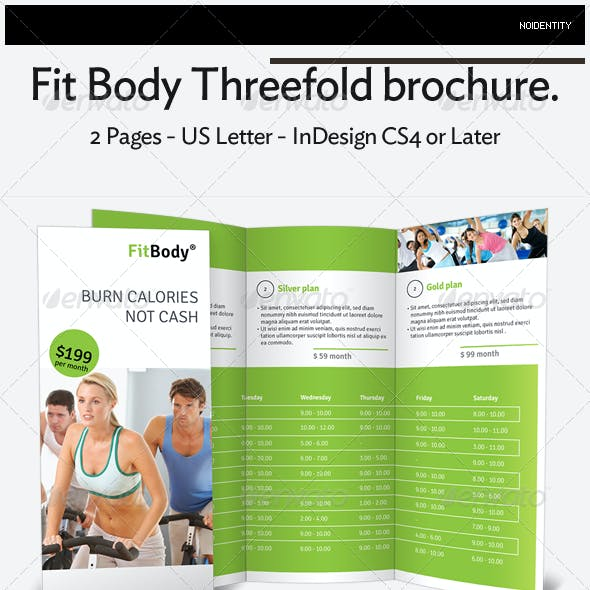 Fit Body Threefold brochure