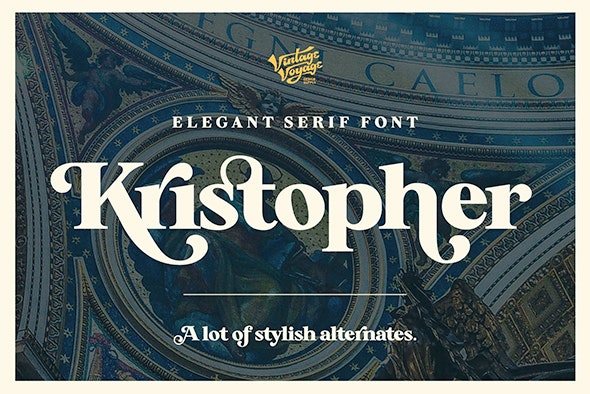 Kristopher - Serif Fonts