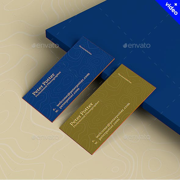 Business Card MockUp v4