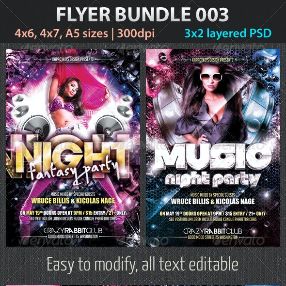 Flyer Bundle 003