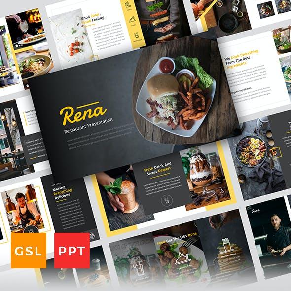 Rena - Restaurant Presentation Template