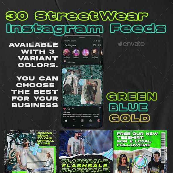 30 Streetwear Instagram Feed