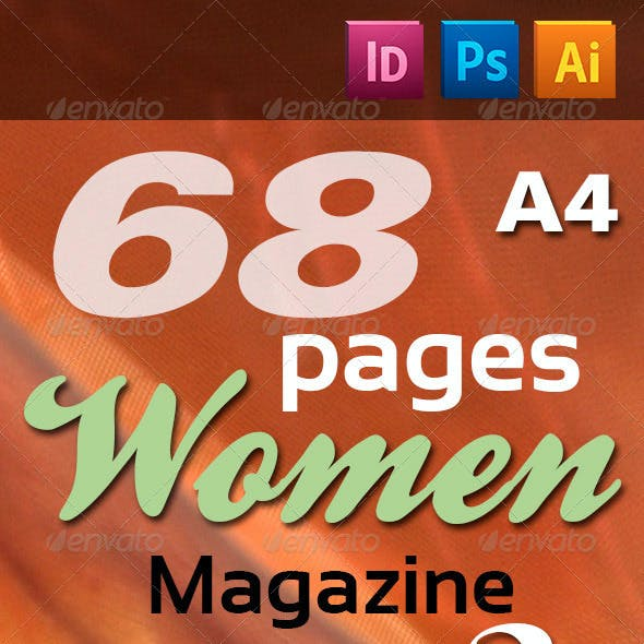 68 Pages Women Magazine Pack 2