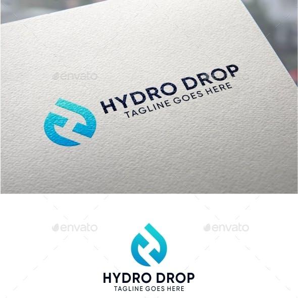 Drop Letter H Logo