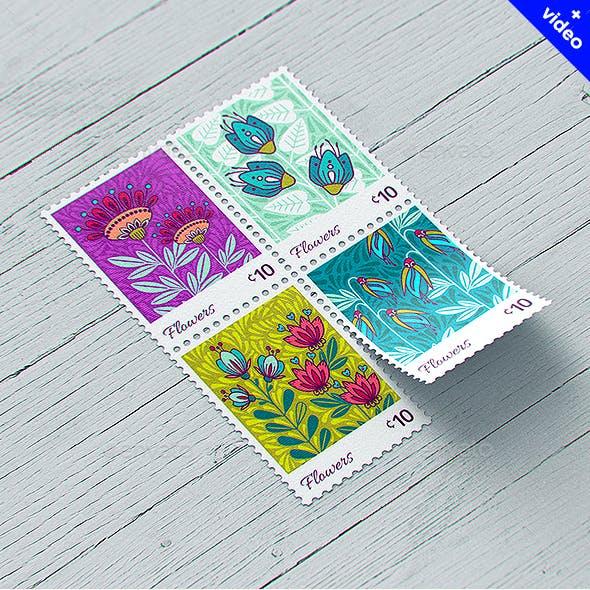 Postage Stamp MockUp v1
