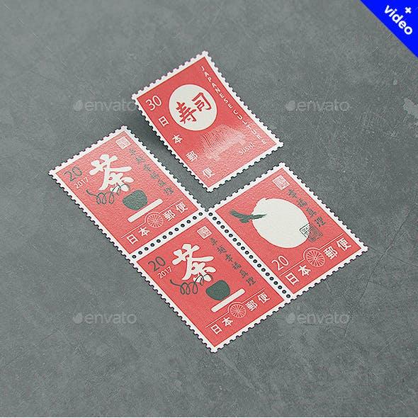 Postage Stamp MockUp v2