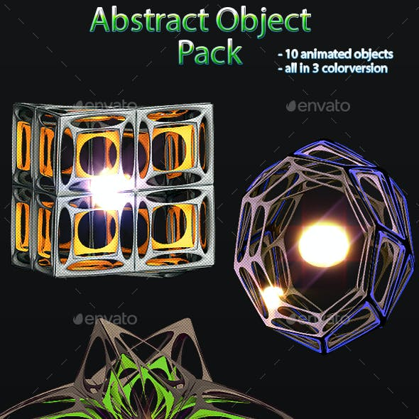 Abstract Object Sprites Pack