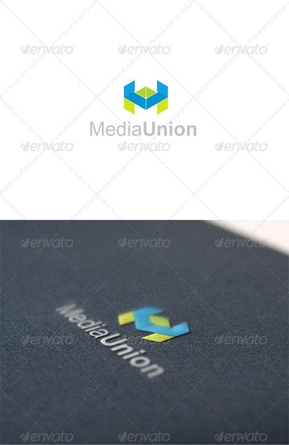 Media logo - Letters Logo Templates