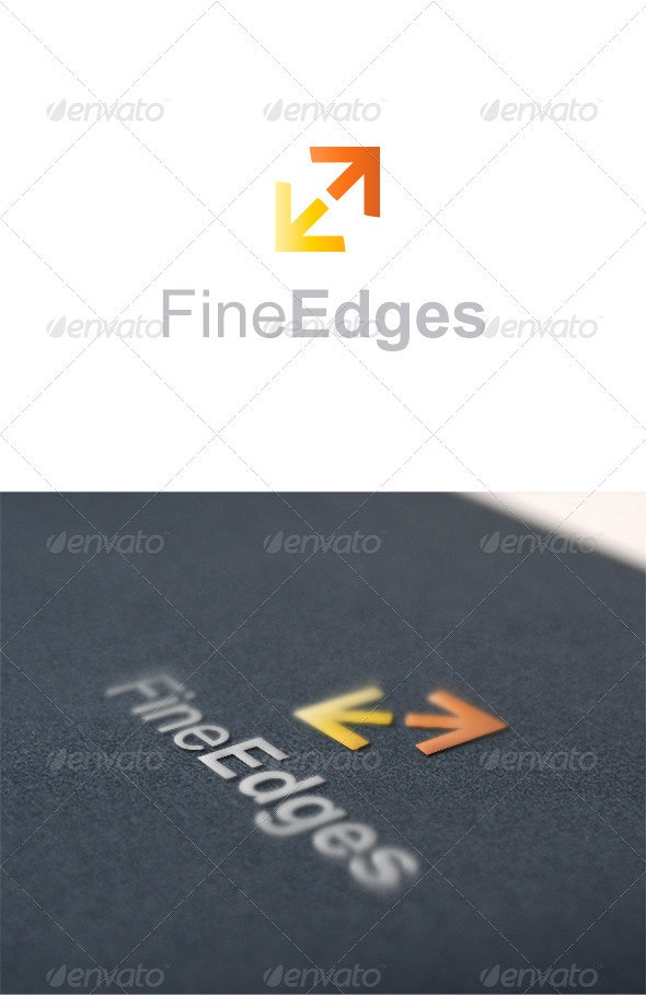 Fine Edges - Vector Abstract