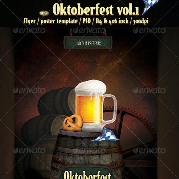 Oktoberfest Vol.1 - Party Flyer/Poster