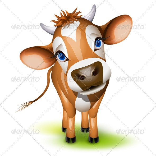 Little jersey cow - Animals Characters