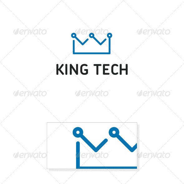 King Tech Logo Template