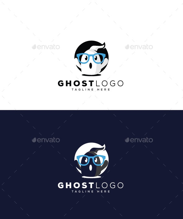 Ghost Logo - Objects Logo Templates