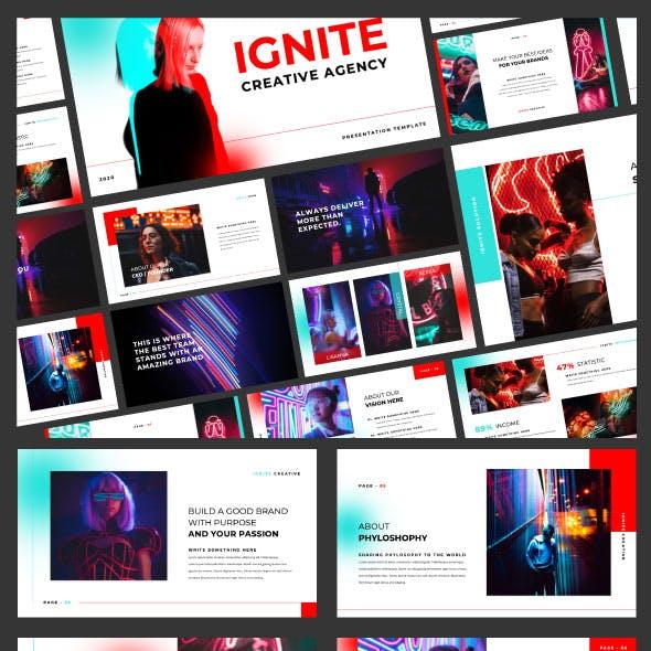Ignite Creative Google Slide Template