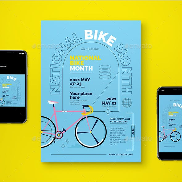 May Is Bike Flyer Pack