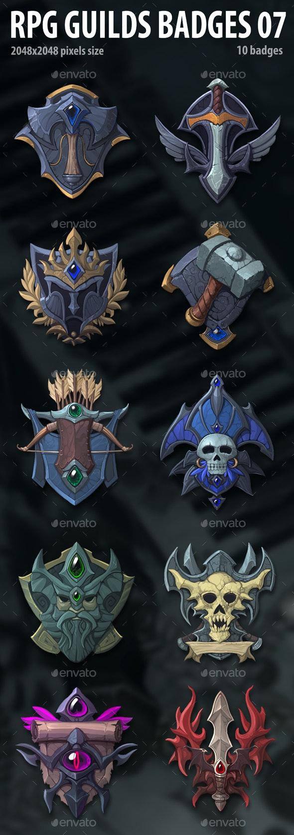 RPG Guilds Badges 07