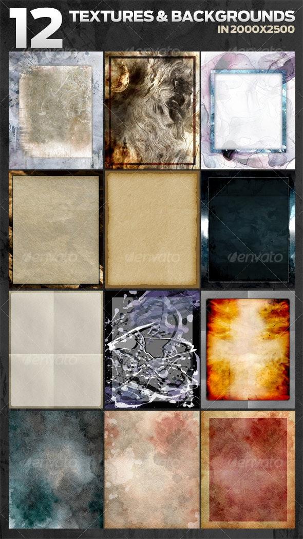 12 Original artsy backgrounds - Backgrounds Graphics