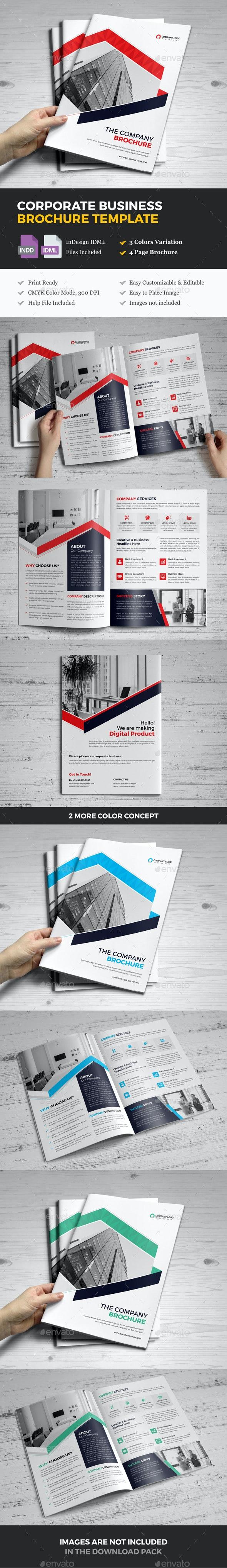 Company Business Brochure Template v10 - Corporate Brochures