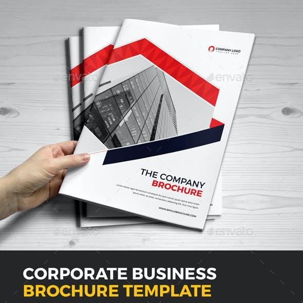 Company Business Brochure Template v10