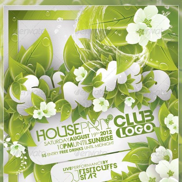 Summer House Party Flyer v2