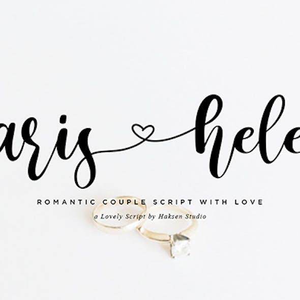 Paris Helen // Romantic Couple Love Script