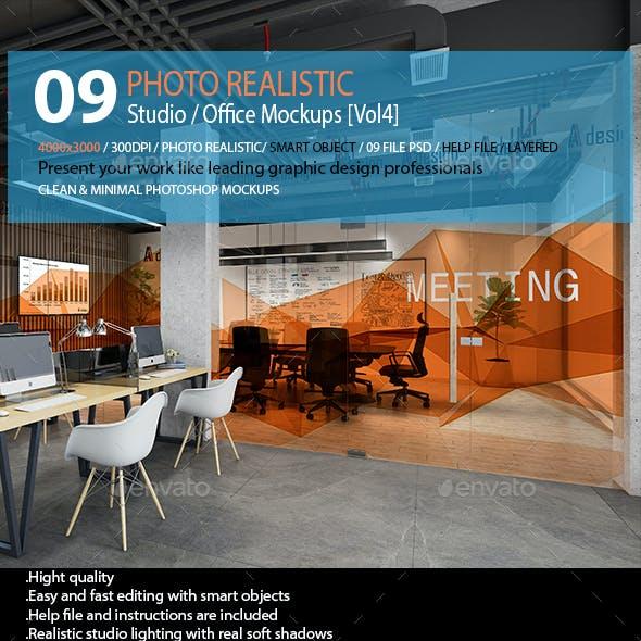 Studio / Office Mockups [Vol4]