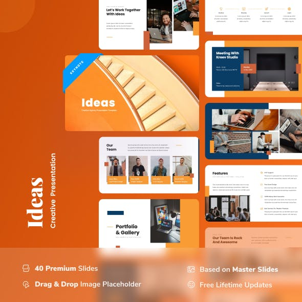 Ideas - Creative Agency Keynote