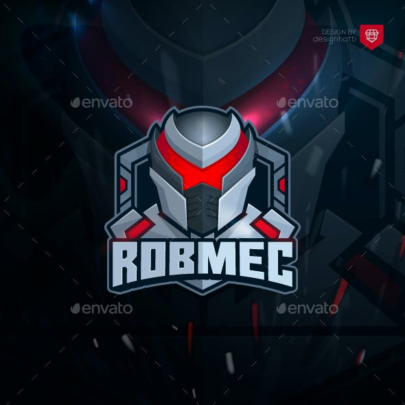 Robmec - Gaming and Esport Logo