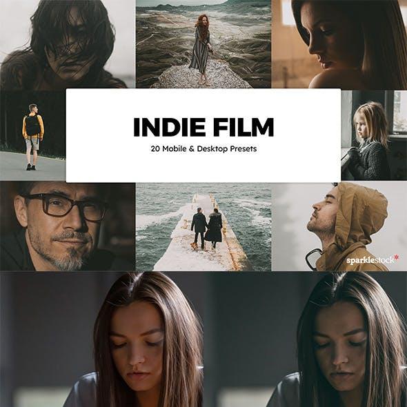 20 Indie Film Lightroom Presets & LUTs