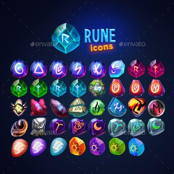 Fantasy Rune Icons