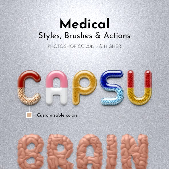 Medical Styles, Brushes and Actions
