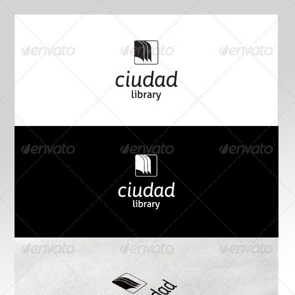 Book & Library Logo Template
