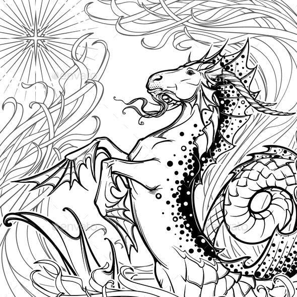 Capricorn Among Seaweed