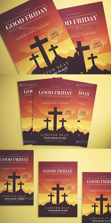 Good Friday Flyer - Flyers Print Templates