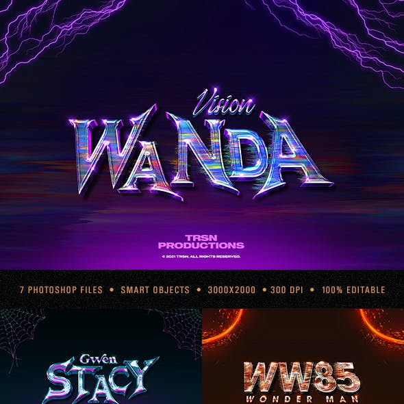 Cinematic 3D Text Effects