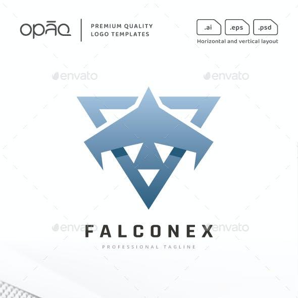 Falcon Bird Flight Logo