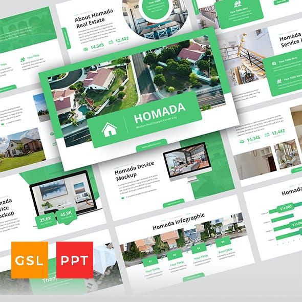 Homada - Real Estate Presentation Template