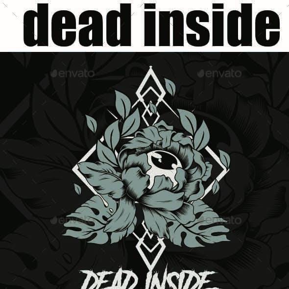 dead inside flower